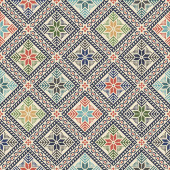 Palestinian embroidery pattern 187