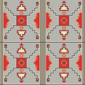 American Indian embroidery pattern 3