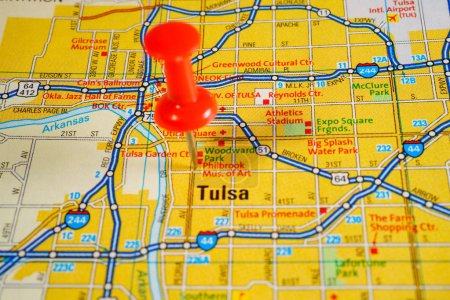 Tulsa, United States map