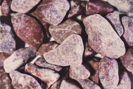 Photo pour Fond de pierres de galets - image libre de droit