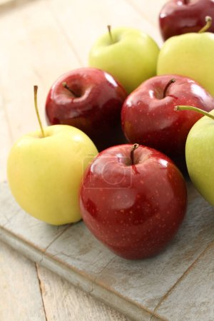 selection of fresh apples