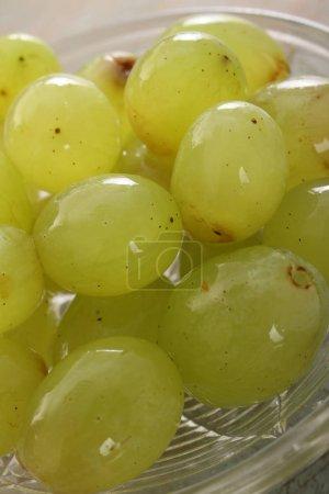 Photo for Preparing healthy fresh grapes - Royalty Free Image