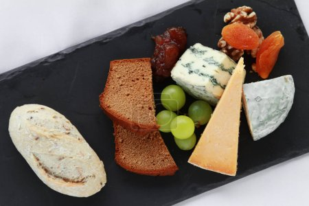 cheese selection appetizer starter