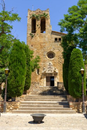 Every small village in Catelonia has a church. The...