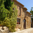 PERATALLADA, SPAIN - MAY 23, 2011: Very nice house...
