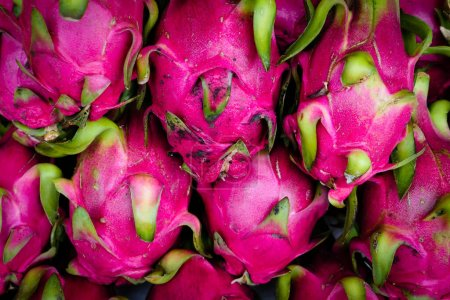Photo for Typical Vietnamese food and regional healthy dishes Pitahaya - Royalty Free Image