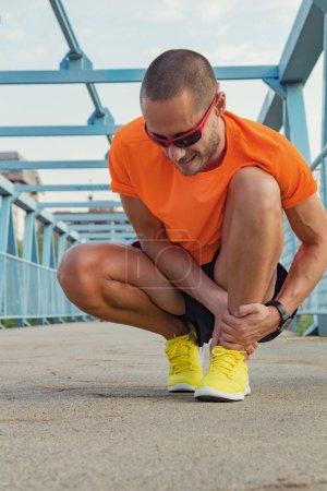 Physical injury during jogging / running / exercising outdoors.