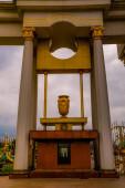 Showplace of Kazakhstan in Almaty, Park of the First President on Al-Farabi Street