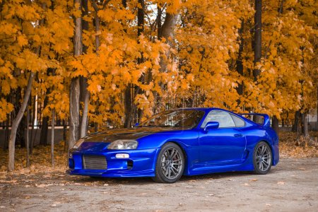 Toyota Supra without any lables
