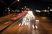 Traffic, speed, motion concept
