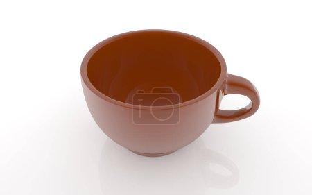 Photo pour Tasse à café isolé sur fond blanc - image libre de droit