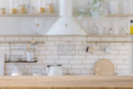Dessus de comptoir de cuisine vide