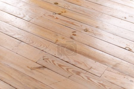 Photo for Texture of light wooden parquet top view - Royalty Free Image