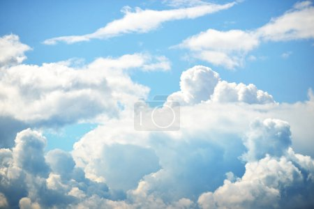 Photo for Close up of blue cloudscape - Royalty Free Image