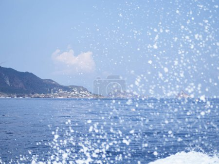 Shot of Panarea in a sunny day...