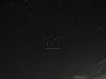 Shot of the sky full of stars in a summer night