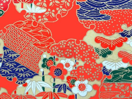 Photo for Pattern on the wrapper of the Japanese - Royalty Free Image