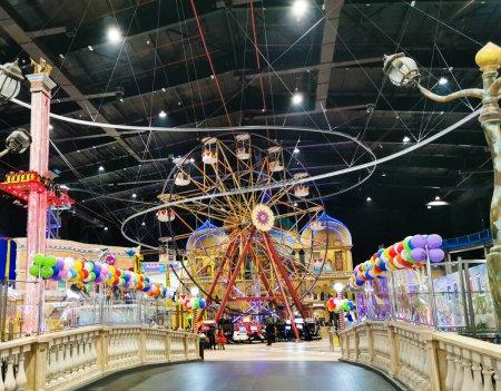 Kids play area of Villaggio mall of Doha, Qatar . ...