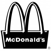 Mcdonald Web icon simple illustration
