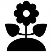 Flower Web icon vector illustration
