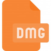 dmg file Simple illustration
