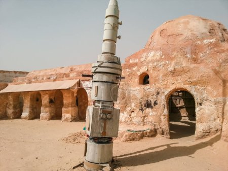Photo for Star Wars set of film, the place where they filmed, Mos Espa Tunisia, Tatooine - Royalty Free Image