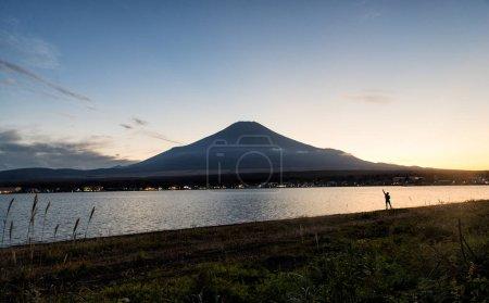 Mount Fuji and natural landscape