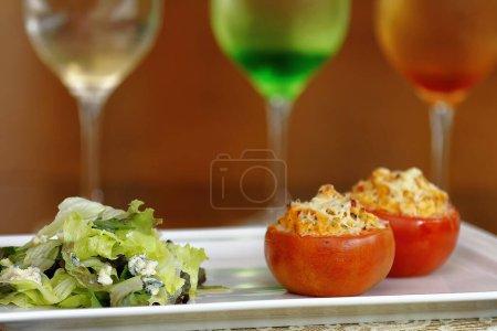 Photo pour Tasty catering food close up shot. La notion de repas - image libre de droit