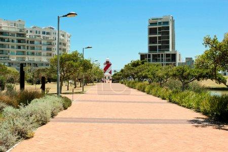 Photo pour Mouille Point au parc Green Point au Cap, Afrique du Sud. - image libre de droit