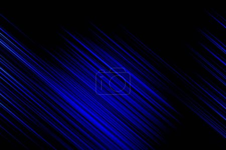 Photo for Blue abstract lines background texture - Royalty Free Image