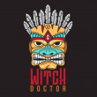 Witch Doctor Logo design...