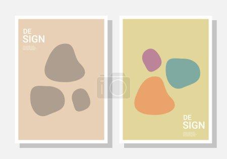 Foto de Plantillas de diseño de portada y póster. Diseño abstracto elegante. Ilustración vectorial para portadas, libros, historias de redes sociales y diseños de páginas - Imagen libre de derechos