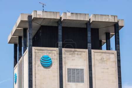South Bend - Circa August 2018: AT&T downtown office. AT&T now offers IPTV, VoIP, Cell Phones and DirecTV XV