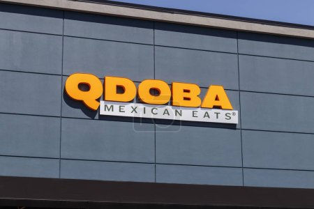 Indianapolis - Circa August 2019: Qdoba Mexican Gr...