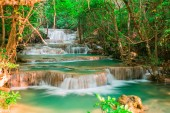 Landscape waterfall in the jungle Thailand