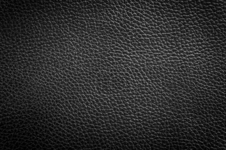 Photo for Abstract black leather texture background - Royalty Free Image