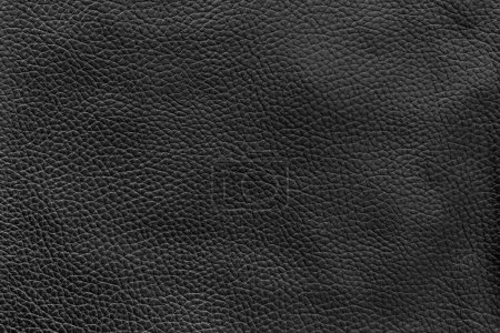 Photo for Black leather texture and background - Royalty Free Image