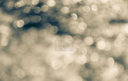 Photo for Abstract orange or gold bokeh background - Royalty Free Image