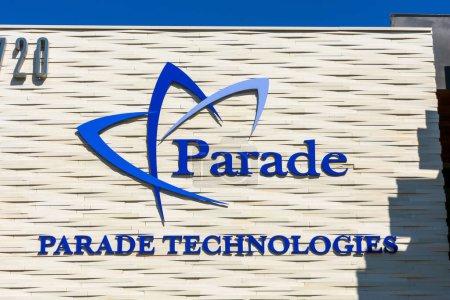 Parade Technologies unterschreibt am Hauptsitz eines fabellosen Halbleiterunternehmens, das auf Hochgeschwindigkeits-Video-Schnittstellen und -Verarbeitungsprodukte spezialisiert ist - San Jose, Kalifornien, USA - 2020