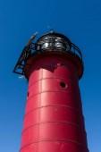 Kenosha north pierhead (pier head) lighthouse in late winter/early spring.