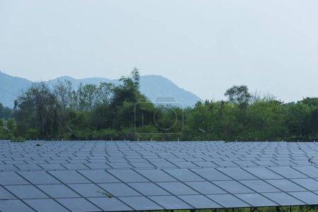 Photo for Power plant using renewable solar energy. - Royalty Free Image