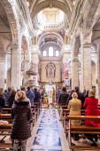 Interior Cathedral of Cagliari, Sardina, Italy