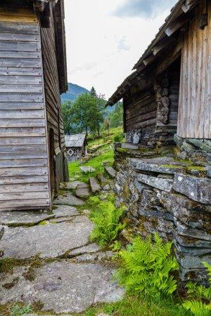 Ferme Nesheim près de Voss en Norvège