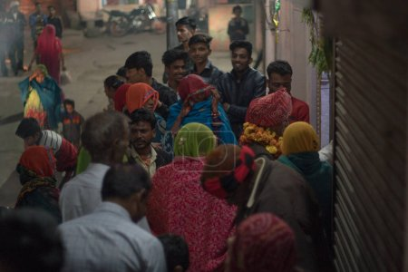 Photo for 1 MARCH 2019: People in Varanasi, India - Royalty Free Image