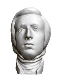 Sculpture of the Polish composer and pianist Frederic Chopin 3D Vector illustration