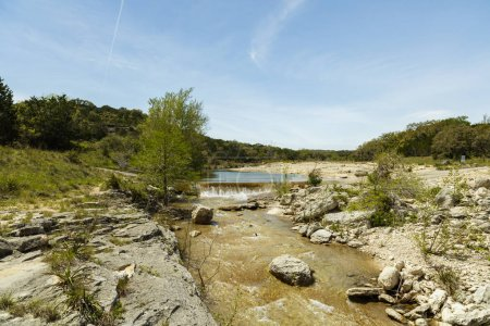 Photo for Slippery creek road in the Texas Hill Country. - Royalty Free Image