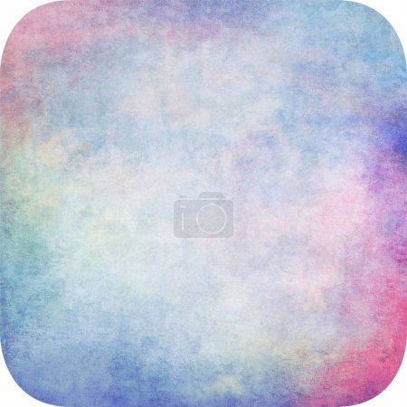 abstract grunge background with round edges