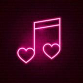 Love Music Neon Sign