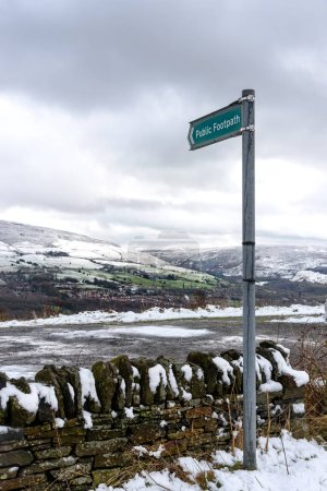 Tameside's varied landscape is well worth exploring in this wintry day. Greater Manchester