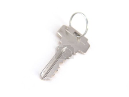 Photo for Close up image of key isolated on white background - Royalty Free Image